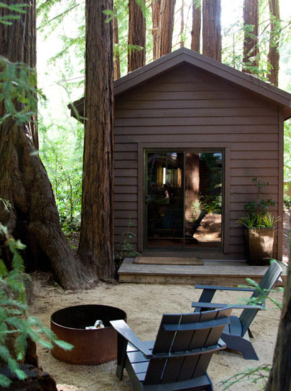 Glen oaks big sur little sur cabins for Big sur cabin