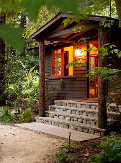 Glen oaks big sur big sur cabin for Big sur cabin e campeggi